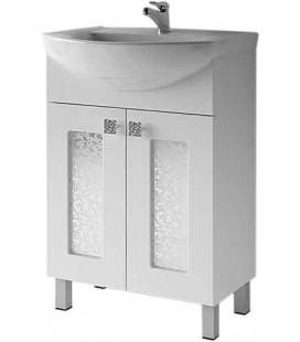 Тумба для ванной Ирт 1-55/60/65 Ирис (ВанЛанд)