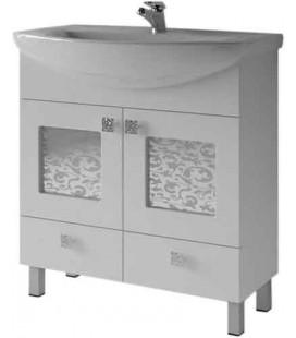 Тумба для ванной Ирт 2-60/65/80 Ирис (ВанЛанд)