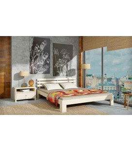 Деревянная кровать Новара MebiGrand