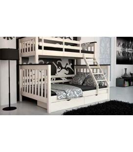 Двухъярусная кровать Скандинавия MebiGrand