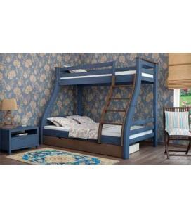Двухъярусная кровать Аляска MebiGrand