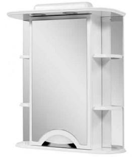 Зеркальный шкаф в ванную Альвеус 60-03 Пик