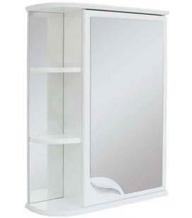 Зеркальный шкаф в ванную Базис 55 Пик