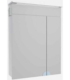 Зеркальный шкаф в ванную с LED подсветкой Allet Atmc-60 ВанЛанд