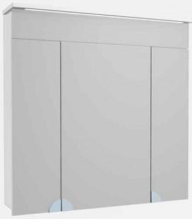Зеркальный шкаф в ванную с LED подсветкой Allet Atmc-80 ВанЛанд