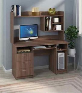 Компьютерный стол Оскар с надстройкой Пехотин